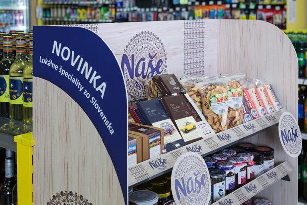 Slovnaft predáva regionálne potraviny