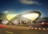 Slovnaft stavia futuristickú čerpaciu stanicu