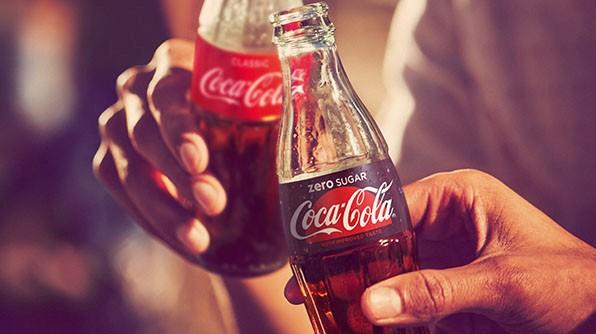 Coca-Cola Zero je bez kofeínu, Fanta a Sprite bez cukru