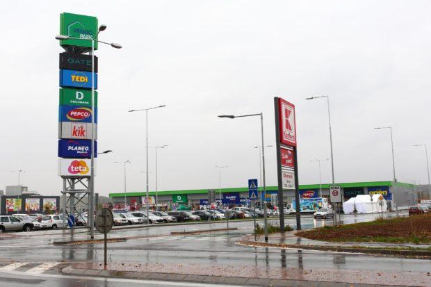 Zlaté Moravce majú nákupné centrum Vendo Park, štvrté na Slovensku