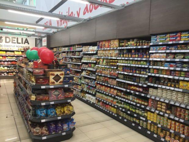 Delia potraviny otvorili v bratislavskom Avione, obchod je dočasný