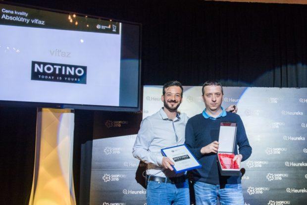 Shop roku 2016: Najlepším internetovým obchodom je Notino.sk