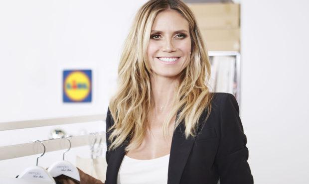 Topmodelka Heidi Klum vytvorila oblečenie pre Lidl