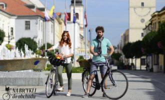 V septembri sa do obchodov bude viac jazdiť na bicykli