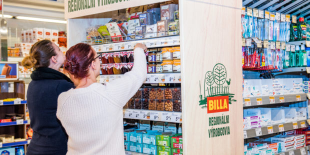 Billa podporuje slovenských dodávateľov v regiónoch