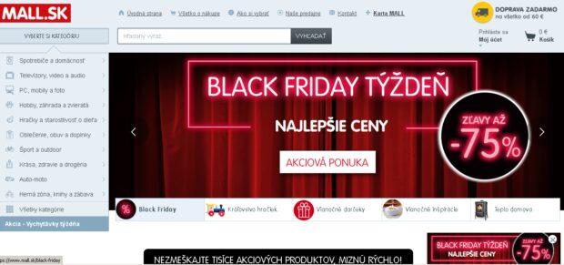 5ebcd2c99 Black Friday: Internetové obchody majú vyššie zľavy ako kamenné ...