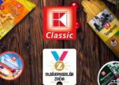 Privátna značka Kauflandu K-Classic opäť získala ocenenie Najdôveryhodnejšia značka 2017