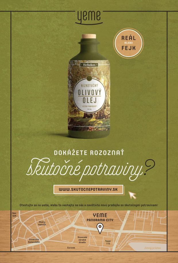 Yeme propaguje svoju tretiu predajňu netradičnou kampaňou Dokážete rozoznať skutočné potraviny?