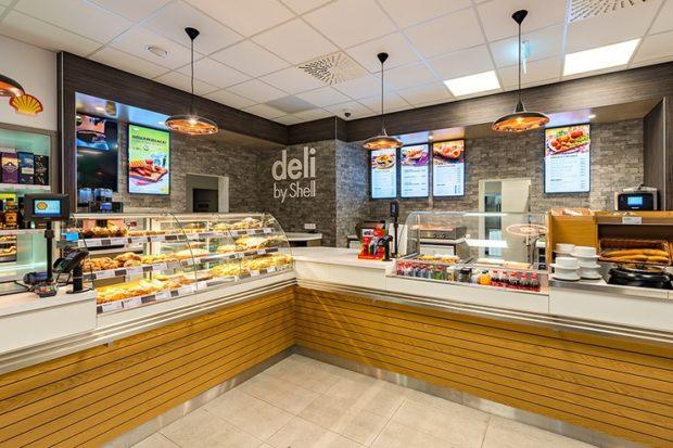 Shell zavádza nové občerstvenie delibyShell. Na budúci rok ho rozšíri na 18 čerpacích staníc