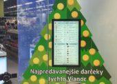 Zaujímavosť: Šikovný stromček Datartu poradí zákazníkom, aké vianočné darčeky môžu kúpiť