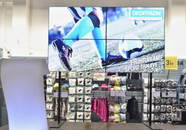 Decathlon otvoril novú predajňu v trnavskom Obchodnom centre Galéria. Je šiesta na Slovensku