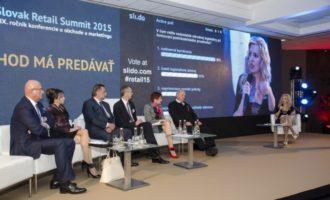 23. – 25. 4. 2018 Slovak Retail Summit, Bratislava