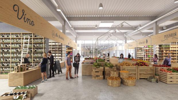 V bratislavskom nákupnom centre Slnečnice Market pribudne farmárska časť Trch.