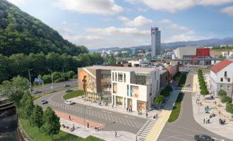 Obchodné centrum Point v Banskej Bystrici otvoria v septembri