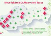 Sieť Dr.Max prevzala od Tesca jedenásť lekární v obchodných domoch