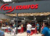 CBA Komfos otvoril svoj 43. obchod, v prešovskom nákupnom centre Max