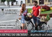 Kampaň Na bicykli do obchodu prebehne v septembri. Zákazníci získajú zľavu či darček