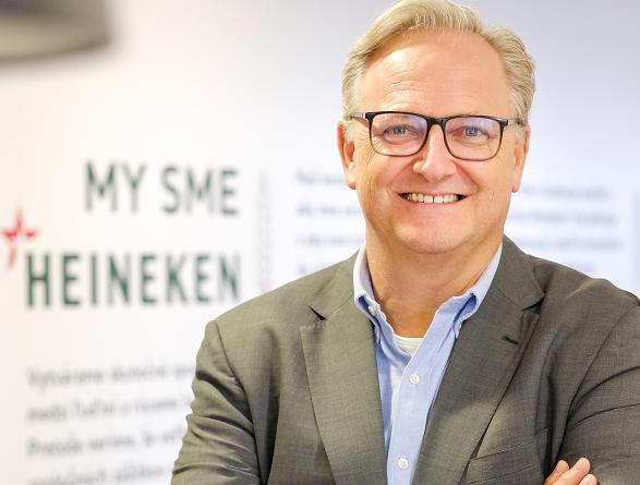 Heineken Slovensko privítal nového generálneho riaditeľa
