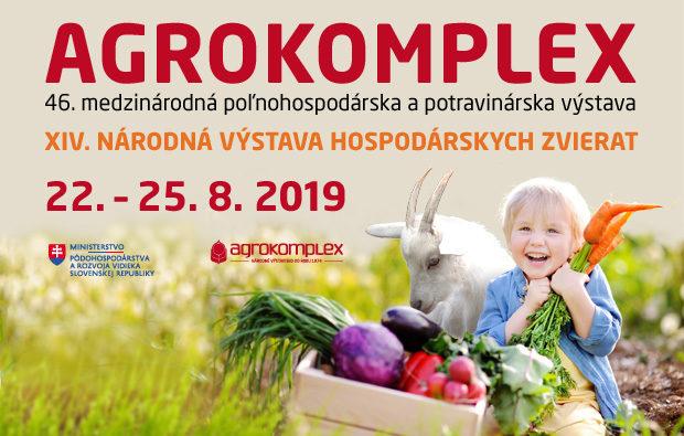 20. – 25. 8. 2019, Agrokomplex, Nitra