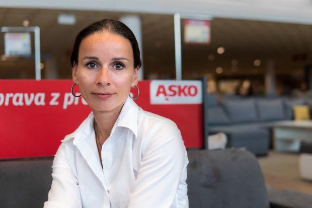 Andrea Štěpánová je novou marketingovou riaditeľkou Asko – Nábytok