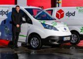 Zásielky spoločnosti DPD doručuje v Bratislave cyklokuriér