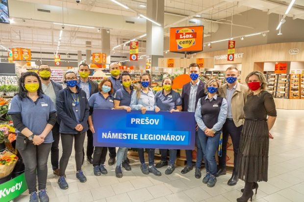 Lidl otvoril 145. predajňu na Slovensku