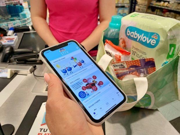 Spoločnosť dm spustila novú mobilnú aplikáciu