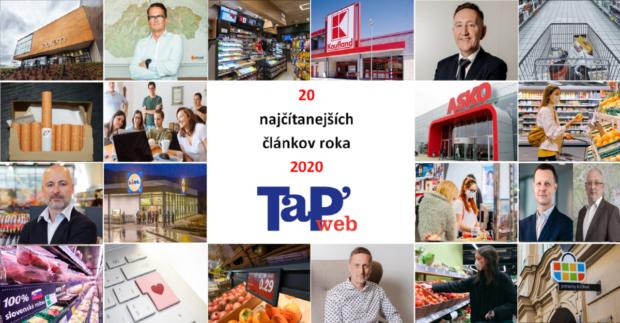 20 najčítanejších článkov webu Tovar&Predaj za rok 2020