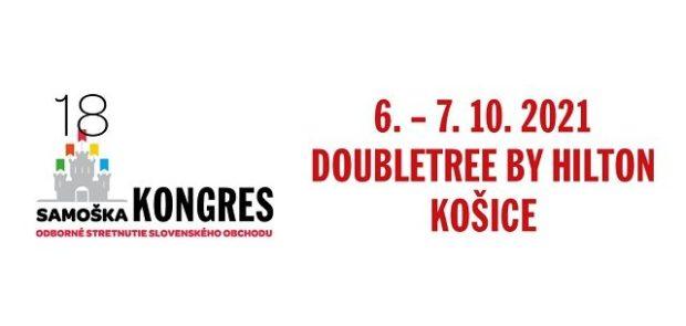 6.– 7. 10. 2021, Kongres Samoška 18, Košice