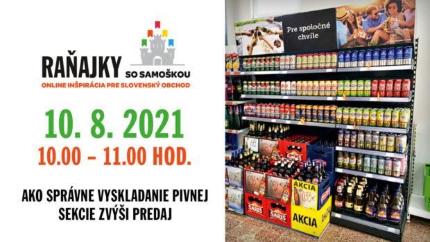 10. 8. 2021, Raňajky so Samoškou, Online