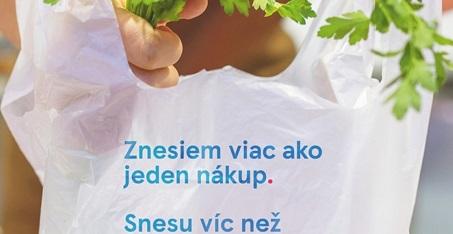 Tesco vyrába nové nákupné tašky z odpadu